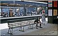 TQ2470 : On the platforms at Wimbledon Station by Ben Brooksbank