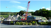 NS0667 : Port Bannatyne boatyard by Thomas Nugent