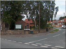 SE2837 : Corner of Sunset Road and Green Road, Meanwood, Leeds by Neil Theasby