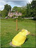 SU8695 : Art at Hughenden Park (9) by Graham Horn