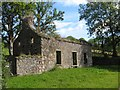 G8863 : Ruined house, Tullymore by Jonathan Wilkins