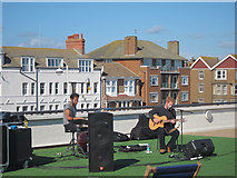 TQ7407 : Band on the roof by Oast House Archive