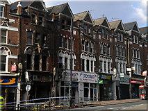 TQ2775 : Riot damaged shops, Lavender Hill SW11 by Robin Sones