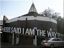 TQ2775 : Church of the Nazerene, Grant Road SW11 by Robin Sones