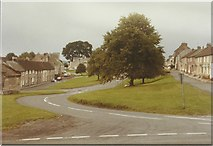 NZ0772 : Stamfordham village green in 1984 by John Baker