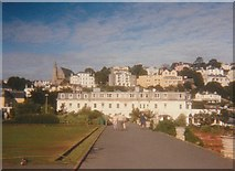 SX9063 : Pathway in Torre Abbey Gardens Torquay by peter robinson