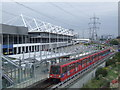 TQ4180 : Prince Regent DLR station by Malc McDonald