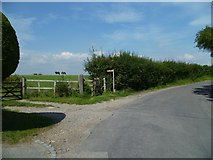 TQ2411 : Footpath from Clappers Lane in Fulking by Shazz