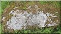 NR8297 : Cup-marked slab near Cnoc-an-tealiaidh by Bob Embleton