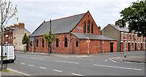 J3673 : Bloomfield Congregational church, Belfast (2011) by Albert Bridge
