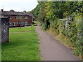 ST2986 : Footpath through Gaer Vale, Newport by Jaggery