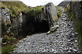 SH6646 : Level mouth at Rhosydd Quarry by Philip Halling