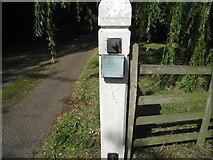 TA0816 : Bloody Gate, Wootton, detail by Jonathan Thacker