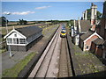 TA1113 : A Cleethorpes to Manchester Airport Train passes through the former Brocklesby Station by Jonathan Thacker
