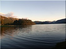NY2622 : Derwentwater from Friar's Crag by Euan Nelson