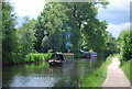 SP0483 : Narrowboats, Worcester and Birmingham Canal by N Chadwick
