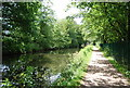 SP0483 : Towpath, Worcester and Birmingham Canal by N Chadwick