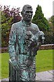 Q5901 : Tom Crean statue, Anascoul by Ian Taylor