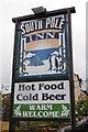 Q5901 : South Pole Inn sign, Anascoul by Ian Taylor