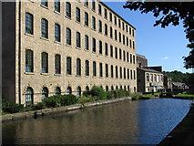 SE1115 : Milnsbridge - Union Mill by Dave Bevis