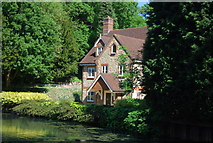 TQ6056 : House by Basted Mill Pond by N Chadwick