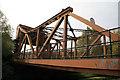 TQ3580 : Scherzer rolling bridge, Garnet Street, Wapping by Chris Allen