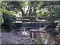 NY6862 : Weir on Park Burn by Mike Quinn