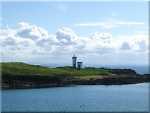 NT4999 : The lighthouse at Elie Ness in the East Neuk of Fife by James Denham