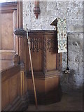 NY9650 : The Church of St. Mary The Virgin - pulpit by Mike Quinn