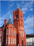 ST1974 : The Pierhead Building, Cardiff Bay by Adrian Platt