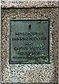 TQ4470 : Plaque on drinking fountain by Ian Capper
