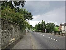 NS3618 : A713 Dalmellington Road by Billy McCrorie
