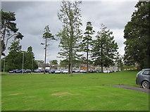 NS3618 : Ailsa Hospital Car Park by Billy McCrorie