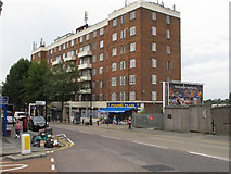 TQ2081 : Acton House, flats on Horn Lane by David Hawgood