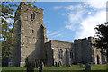 TR0227 : St George's Church, Ivychurch by Julian P Guffogg
