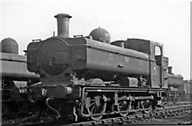 TQ2182 : Nearly new GW 0-6-0PT at Old Oak Common Locomotive Yard, pre-Nationalisation by Ben Brooksbank