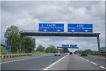 NZ2411 : Junction 57, A1(M) by N Chadwick