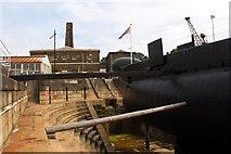 TQ7569 : HM Submarine Ocelot, Chatham Historic Dockyard, Kent by Christine Matthews