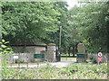 SP2283 : Gates of Packington Park  by Robin Stott