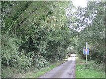 SP2180 : Southeast end of Marsh Lane  by Robin Stott