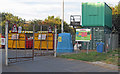 TM2136 : Peninsula Community Recycling Centre, Chelmondiston by Roger Jones