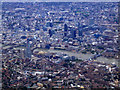 TQ3379 : City of London from the air by Thomas Nugent