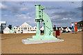 TQ7569 : Steam Hammer, Chatham Historic Dockyard, Kent by Christine Matthews