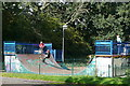 SU7276 : Skateboard park by Graham Horn