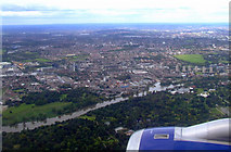 TQ1776 : Kew Gardens from the air by Thomas Nugent