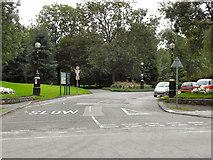 SJ8099 : Buile Hill Park, Eccles Old Road Entrance by David Dixon