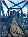 SK9770 : Station footbridge by Richard Croft