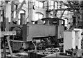 SU1384 : Swindon Works: Vale of Rheidol narrow-gauge 2-6-2T in 'A' Shop by Ben Brooksbank