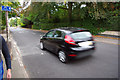 SP0583 : Traffic calming on Oakfield Road by Phil Champion