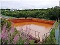 SE2416 : Balancing pond, Hope Pit by Christine Johnstone